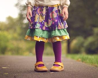 SALE Purple Bohemian Skirt