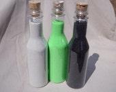 4 Bottles Unity Sand, Ceremony sand colored sand art sand