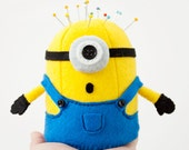 Despicable Me Minion - 11cm Tall Felt Pincushion