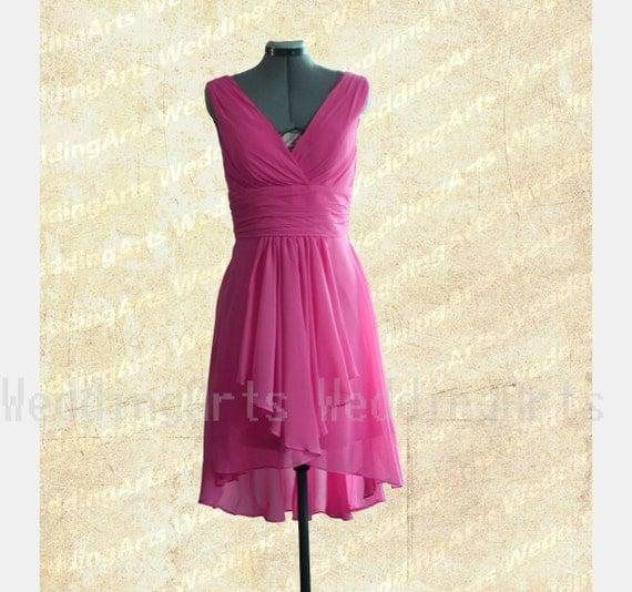 high low bridesmaid dresses canada