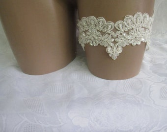 Wedding Garter, Bridal Garter, Lace Garter