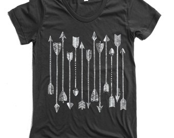 Womens ARROWS Collection american apparel T Shirt S M L XL (16 Colors Available)
