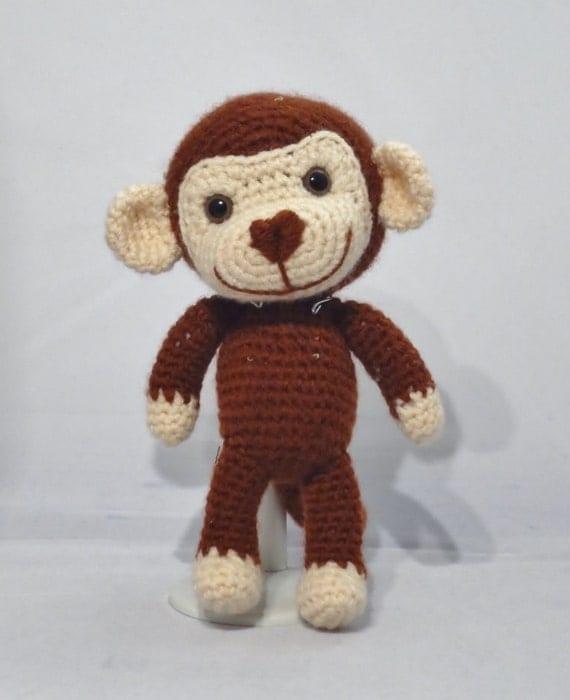 Cheeky Monkey Amigurumi Crochet Pattern : PDF Amigurumi Pattern: Cheeky Monkey from OrangeZoo on ...