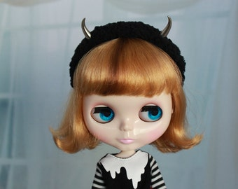 Devil Horns Headband for Blythe Doll