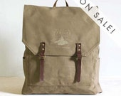 Screen Printed Backpack - Little Tahoma Day Pack