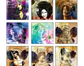 WiLd WoMeN digital collage