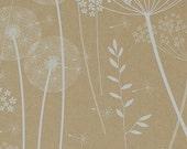 SAMPLE Paper Meadow Wallpaper - Kraft