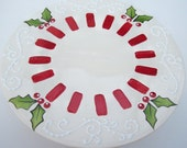 Cake Stand  Christmas Holiday- Ready to Ship