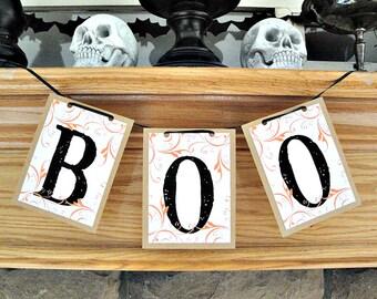 BOO - Halloween Banner
