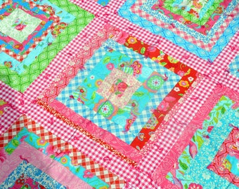 Baby Girl Quilt Throw