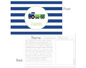 Train personalized placemat