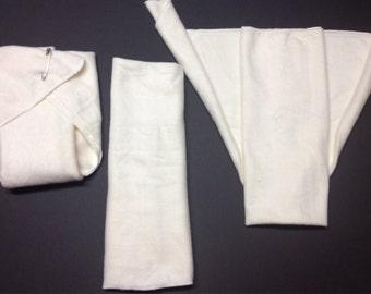 MamaBear Organic Bamboo Fleece Classic Flat Diaper