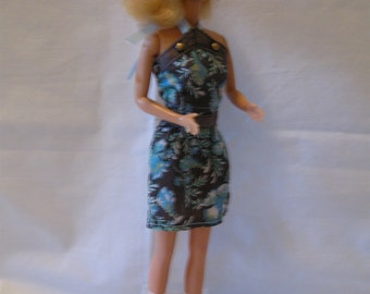 Halter Dress and Shoes for Barbie