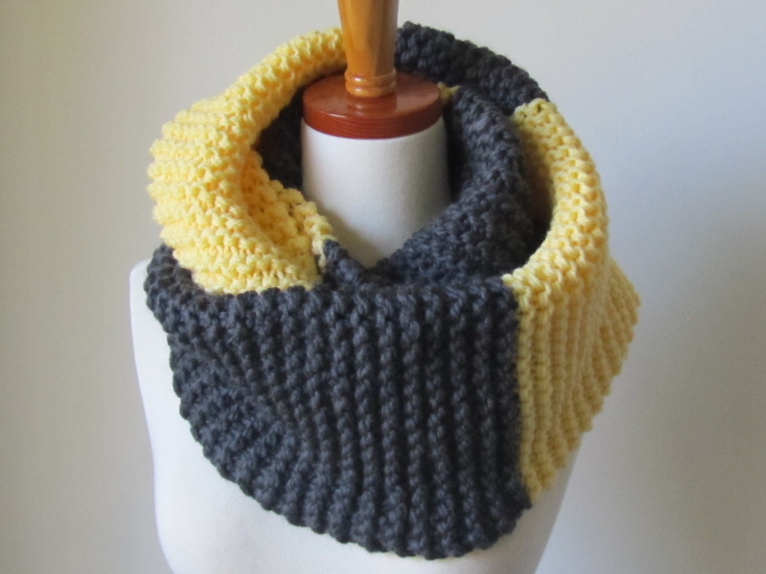 Garter Infinity Scarf Create Your Own