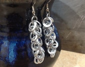 Recycled Shaggy Loops Earrings - Choose your Colors