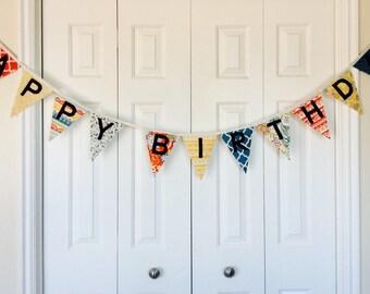 Happy Birthday Bunting -- Serenata