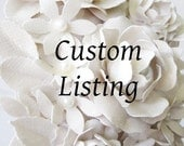 Custom Listing for Rachel-Bride Wreath