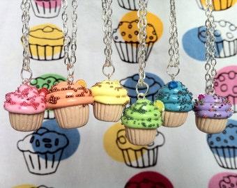 Fruit Cupcake Necklace