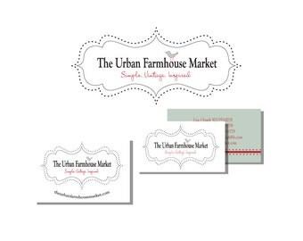 Custom Logo Design Package - Logo Design, Double Sided Business Card Design, Sticker Design