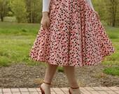 womens girls teens skirt pattern maxi gored panel sewing Starter Skirt 1000