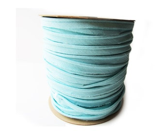 Piping Linen Aqua 5 yards Trim Custom listing for Jessica