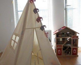 Play Teepee Tent | Tipi | Playhouse | Kids Play Teepee | Tipi | Reg size | Play House | Nursery | Teepee Tent | Kids Tipi | Wigwam | Indoor