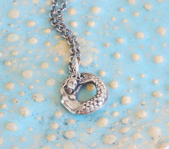 I Do Believe in Mermaids Necklace