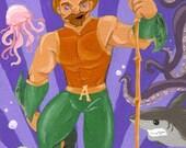 Aquaman: King of the Seven Seas - 4x6 art print
