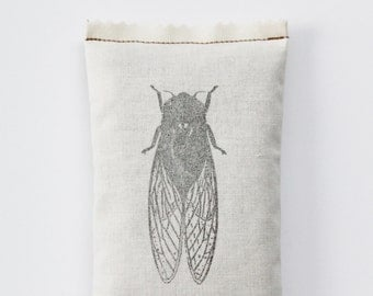 Cicada Lavender Sachet, Gift for Teacher of Biology, Entomology, Zoology