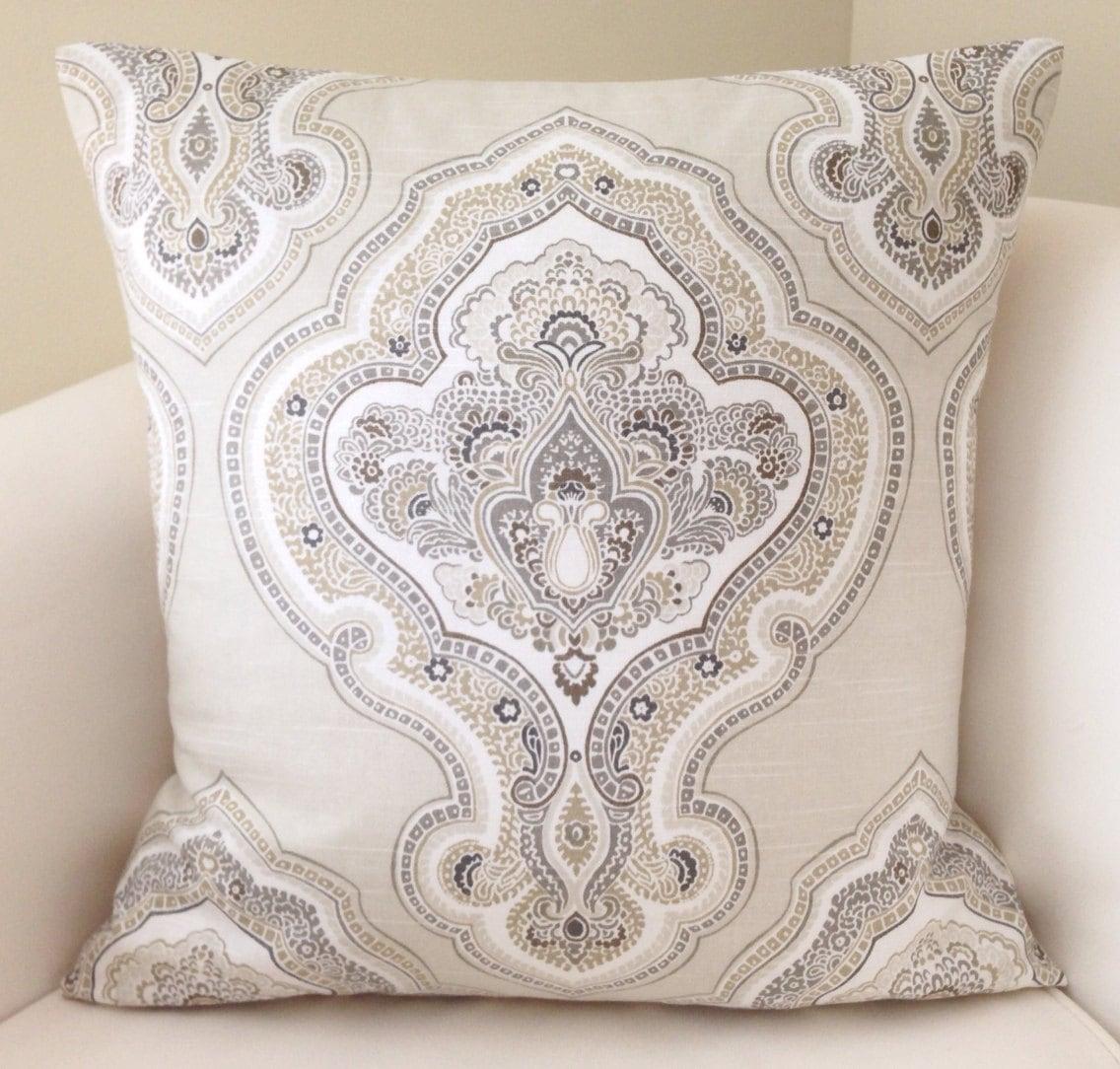 Decorative Pillows Neutral : Decorative Throw Pillow Cover Neutral Pillow Cushion Accent