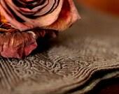 SALE - Little Chocolate Vintage Clutch