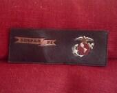 USMC WALLET Leather Handmade