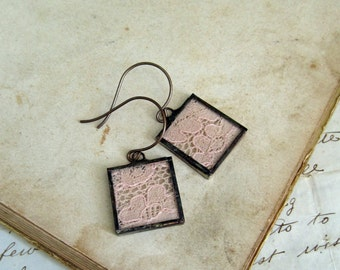Lace Earrings Wedding Jewelry