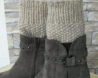 Leg Warmers Boot Cuffs - Boot Cuffs -  Legwear  Knit  Boot Cuffs - Boot Toppers - Winter Fall Accessories  Winter  Fall  Fashion WBC08