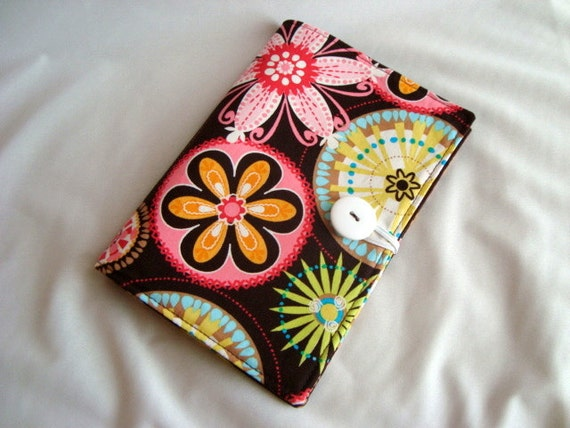 Honey Do List, Grocery List Taker/ Comes with- Note Pad and Pen - Michael Miller CARNIVAL BLOOM
