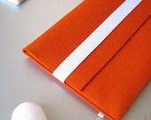 Macbook Air felt sleeve orange