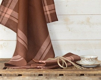 Linen Towels/ shabby chic kitchen /  French linen towel / as seen in Better Homes and Gardens