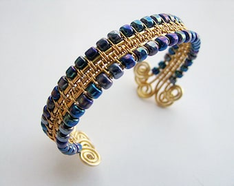 Wire Woven Bangle Tutorial PDF