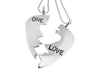 Guitar Pick Charm Necklaces Custom Sterling Silver Breakaway Pendants Personalized Hand Stamped Engraved Artisan Handmade Designer Jewelry