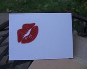 Mini Note cards - Lips  (Set of 12)
