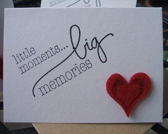 Mini Notecards - Little Moments - (Set of 12)