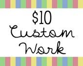 Sweetie Baby's Designs 10 Dollars Worth of Custom Work - Graphic Design Web Blog Blogger Template Logo Premade