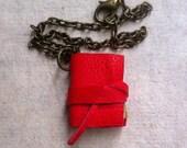 mini book bracelet