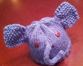 Baby Elephant Knit Hat, Reserved for Tracy