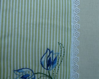 Bluebells tea towel