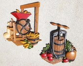 Apples- HOMCO Metal plaques