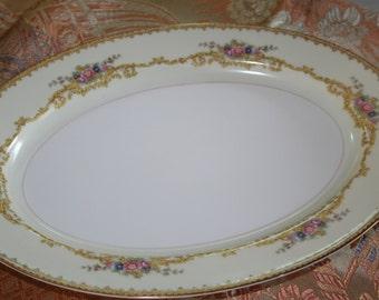 Noritake Farland Large Platter
