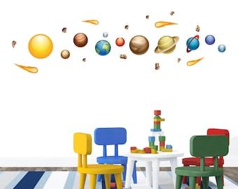 Solar System - Wall Decals