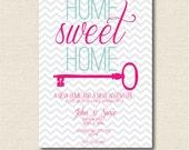 PRINTABLE Home Sweet Home House Warming Invitation