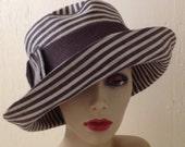Charcoal Hat for L Schrimshaw